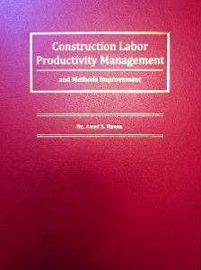 Construction Labor Productivity Management